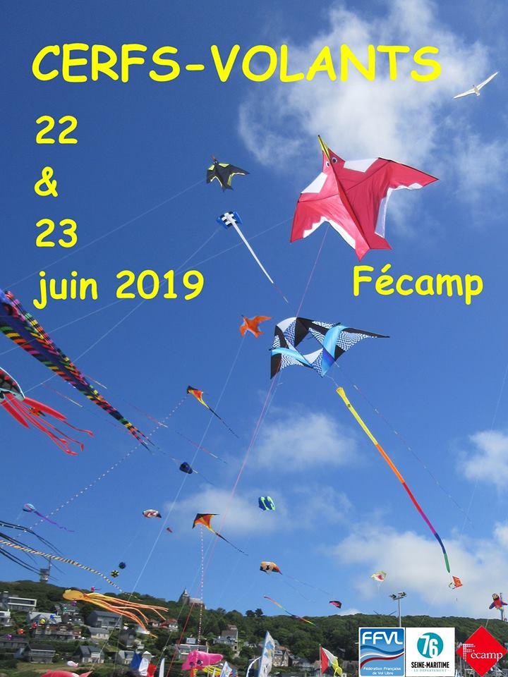 19e rencontre conviviale des Cerfs-volants de Fécamp