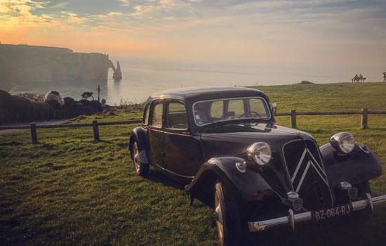 Old Car Normandy Tour