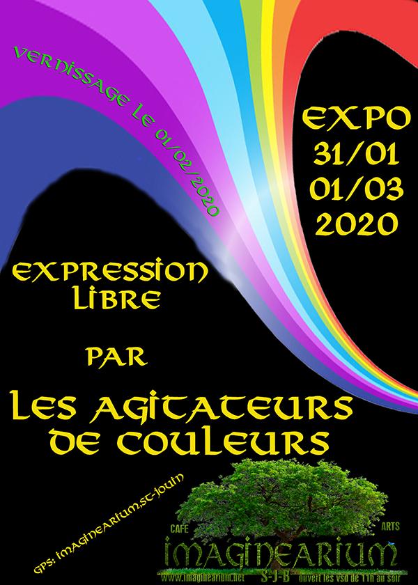 EXPOSITION : Expression libre par les Agitateurs de couleurs