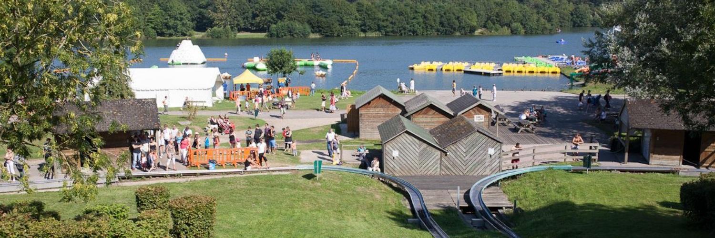 1 - Base de loisirs du Lac de Caniel  - Vittefleur (1500 x 500)