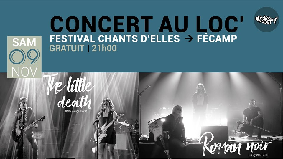 Concert au Loc' : Roman Noir + The Little Death