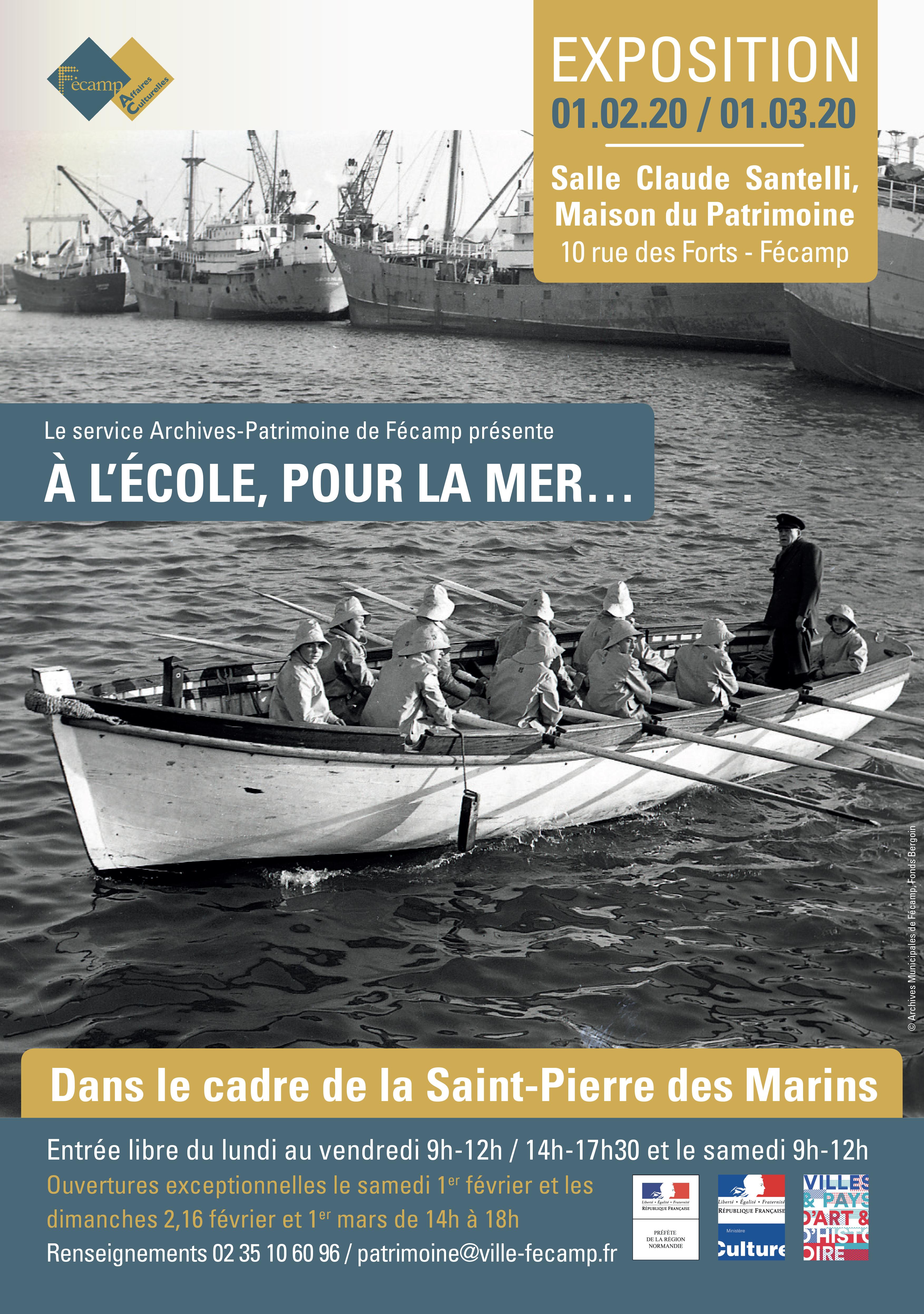 Crédit : ville de Fécamp - service Archives Patrimoine