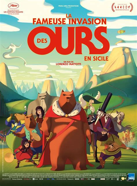 P'tit ciné : la fameuse invasion des ours en Sicile