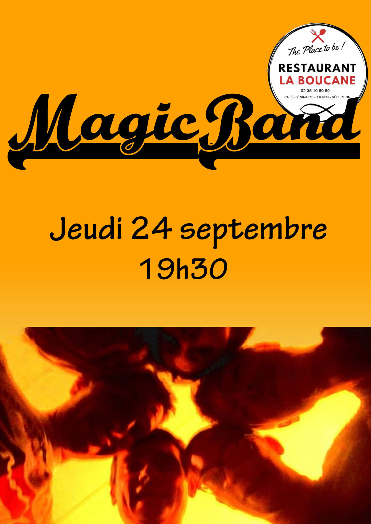 Concert du groupe Magicband