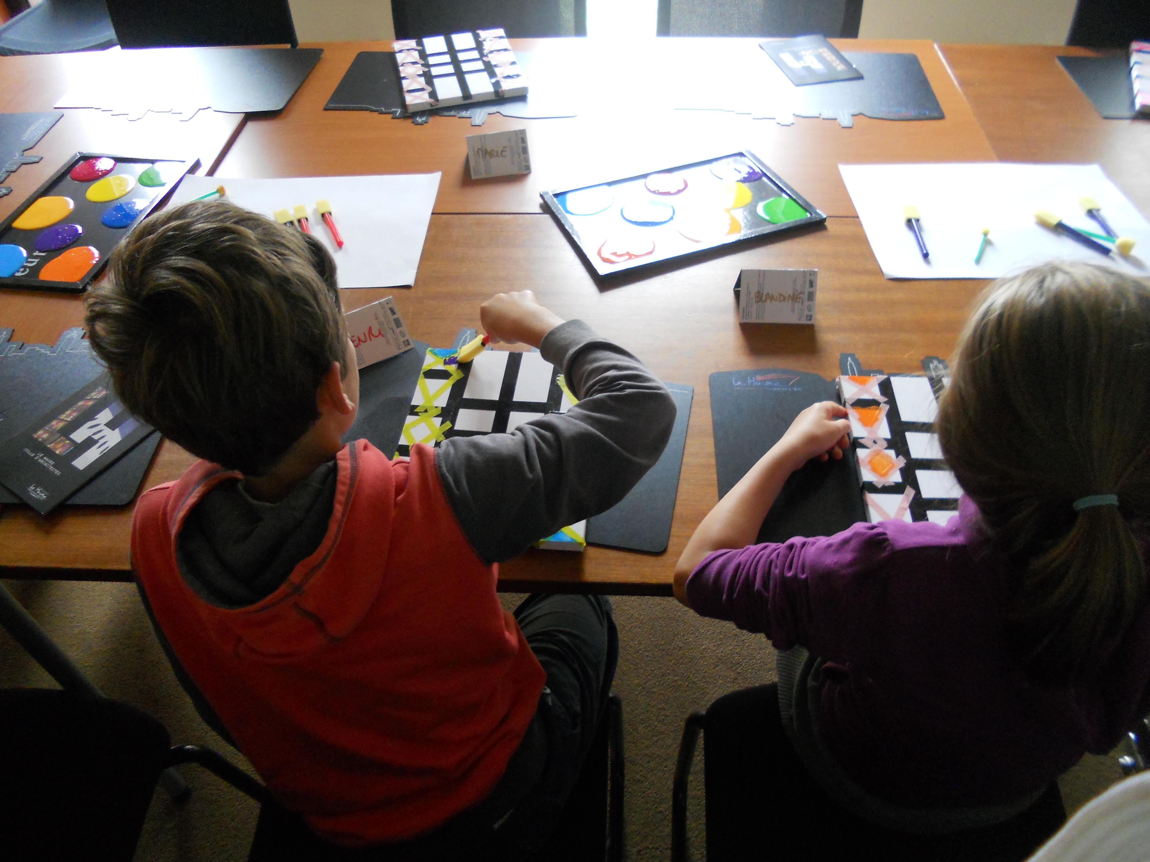 ANIMATION ENFANTS :  Atelier d'expression artistique : Zentangle avec Educ'art
