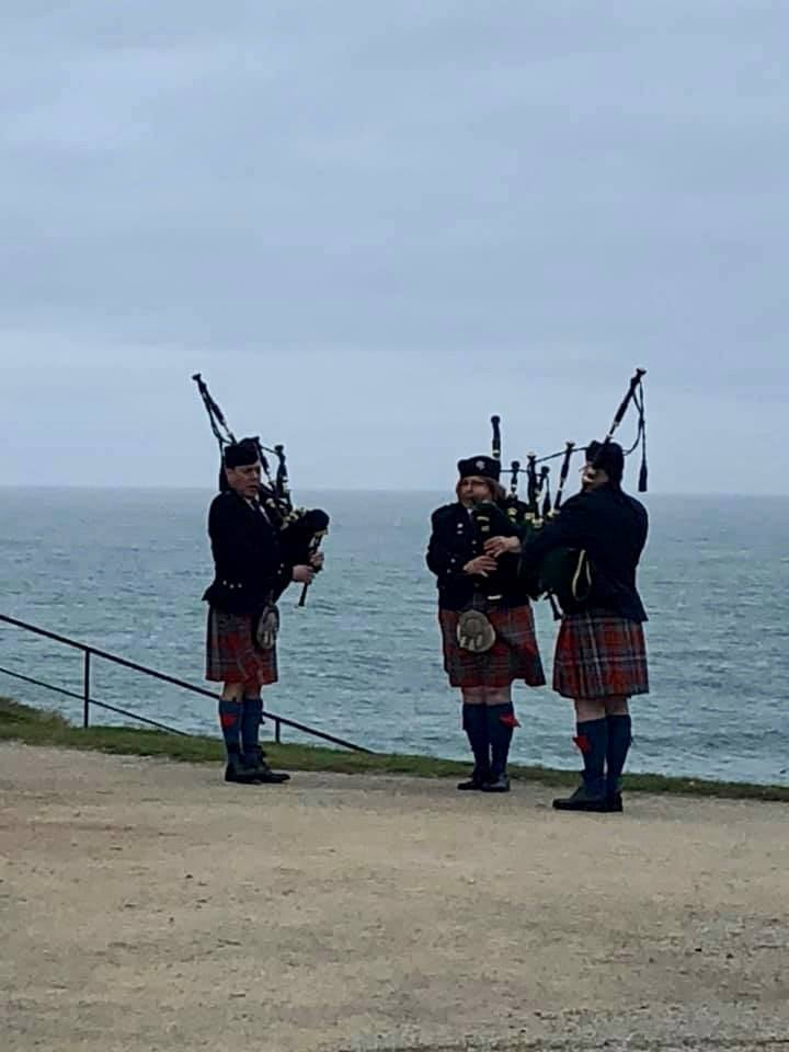 Crédit : La Westcliff Piping Society